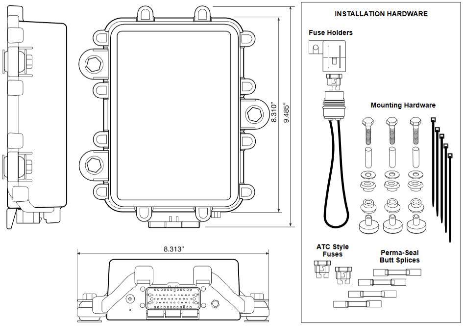 drill master wiring diagram v3r installation guide     zonar systems support  v3r installation guide     zonar systems